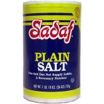 Sadaf Plain Salt 24X26 oz.