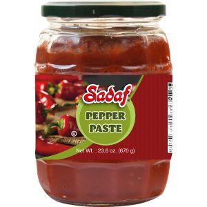 Sadaf Mild Pepper Paste 12×23.6 oz.