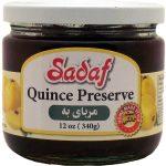 Sadaf Quince preserve 12×12 oz.