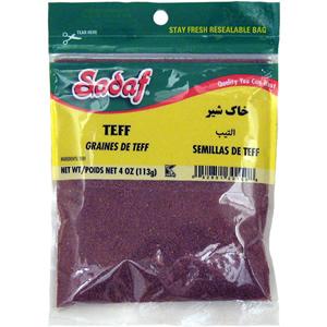 Sadaf Teff Whole Grain (Khak Shir) 12×4 oz.