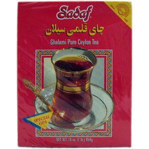 Sadaf Ghalami Pure Ceylon Tea 24×16 oz.