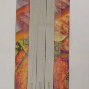 Sadaf BBQ Skewers Wide -Wooden Handle – Set of 3