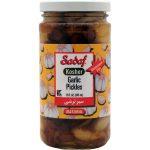 Sadaf Garlic Pickles Kosher 12×12 oz.