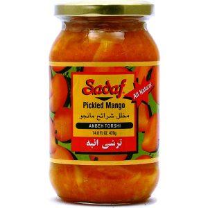 Sadaf Pickled Mango – Anbeh Torshi 12×14.8 oz.