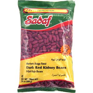 Sadaf Dark Red Kidney Beans 24×24 oz.