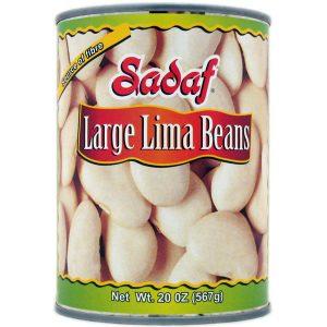 Sadaf Large Lima Beans 24×20 oz.