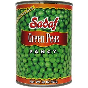 Sadaf Green Peas 24×20 oz.
