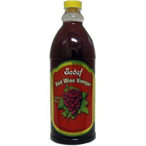 Sadaf Red Wine Vinegar 12×32 oz.