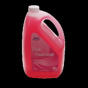 Zaal Pink Foam Soap 4x4L