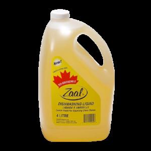 Zaal Lemon Dish Detergent 4x4L