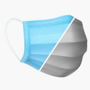 Disposable 3-Layers Single Use Face Mask