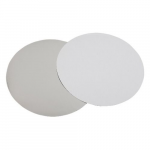 7″ Foil/Paper Lid Round White 500/cs