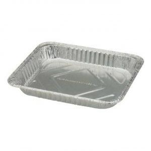 Half Size Shallow Foil Container (12*9*1.5) 100/cs